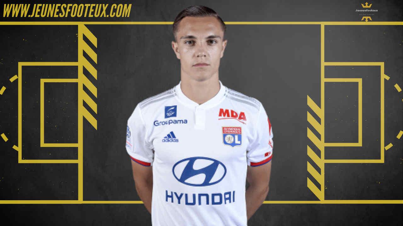 Maxence Caqueret - OL - Olympique Lyonnais