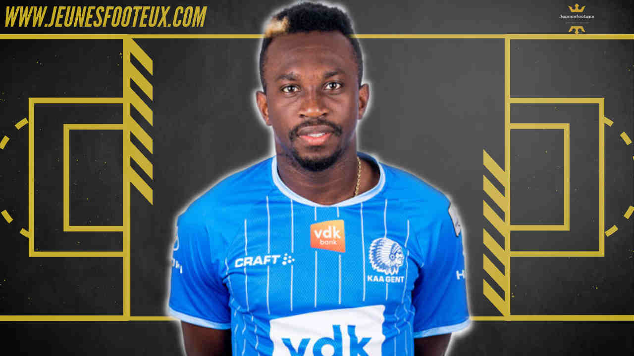 Mercato - Anderson Niangbo (La Gantoise) convoité en Ligue 1
