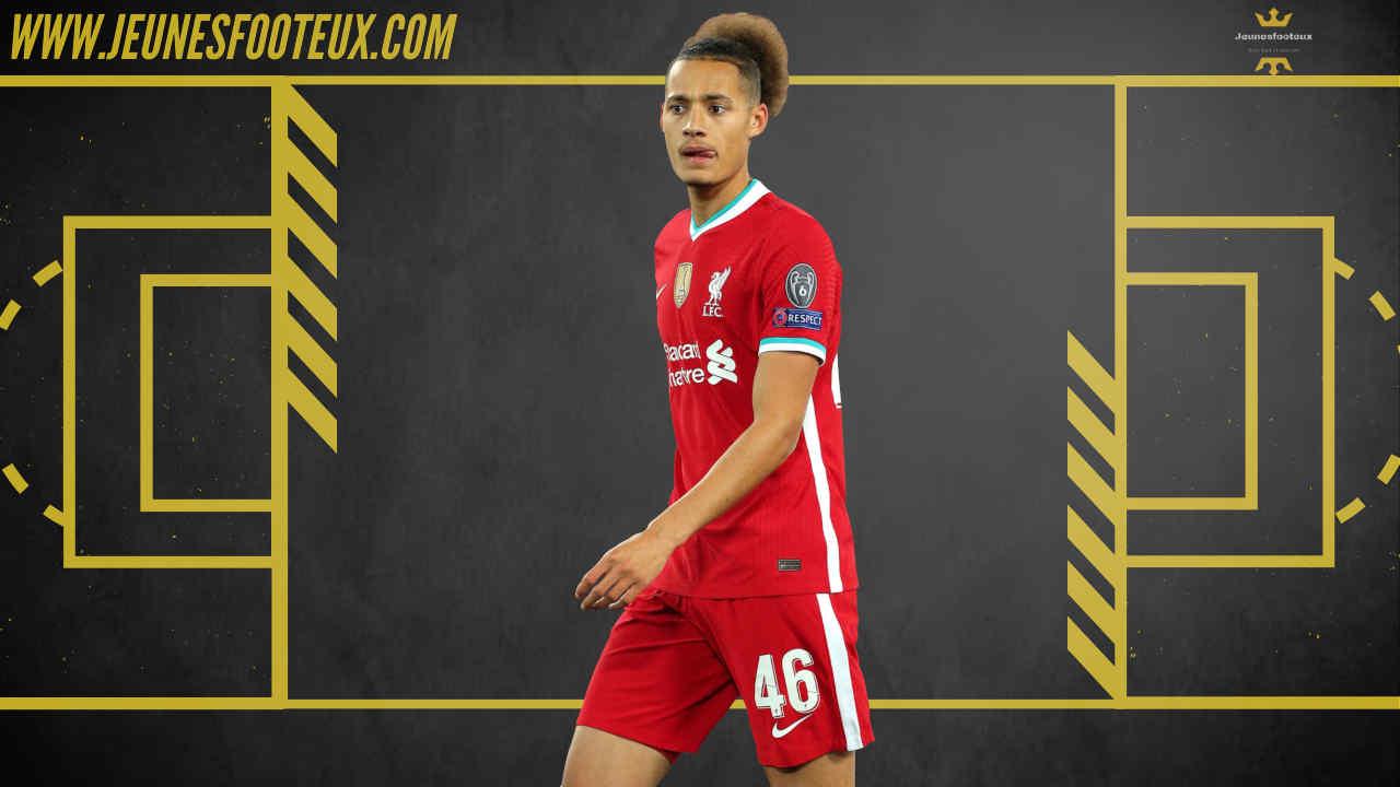 Rhys Williams, jeune défenseur de 19 ans de Liverpool