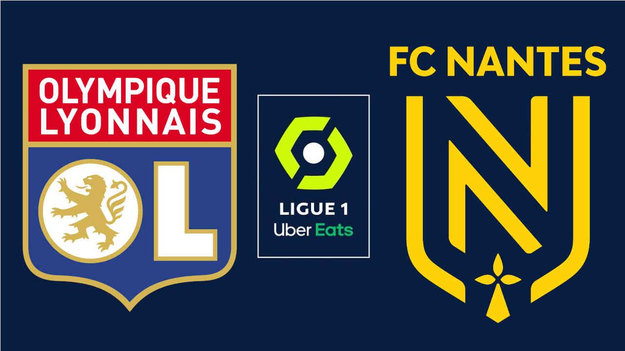Lyon - Nantes : 17e journée de Ligue 1