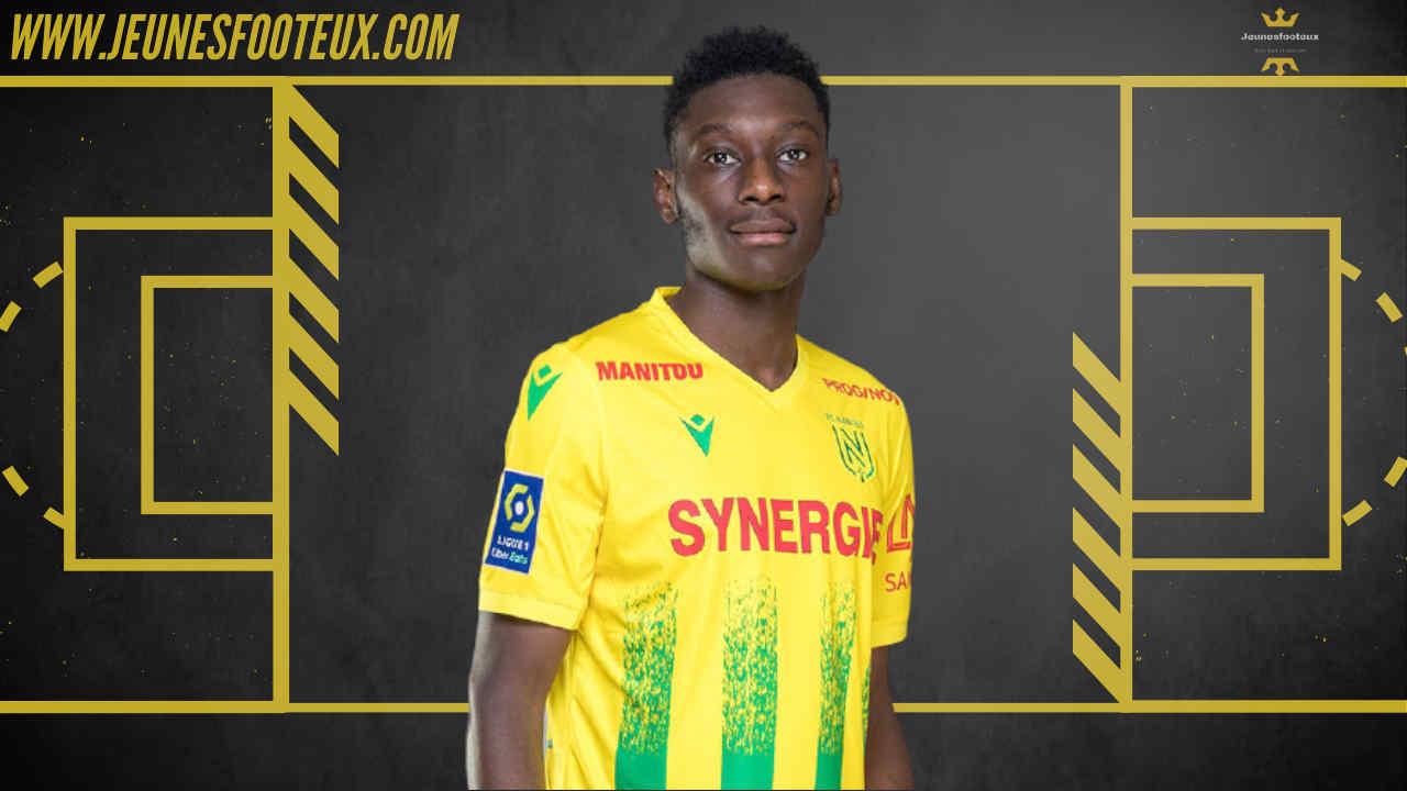 Randal Kolo Muani, attaquant du FC Nantes et international espoir français