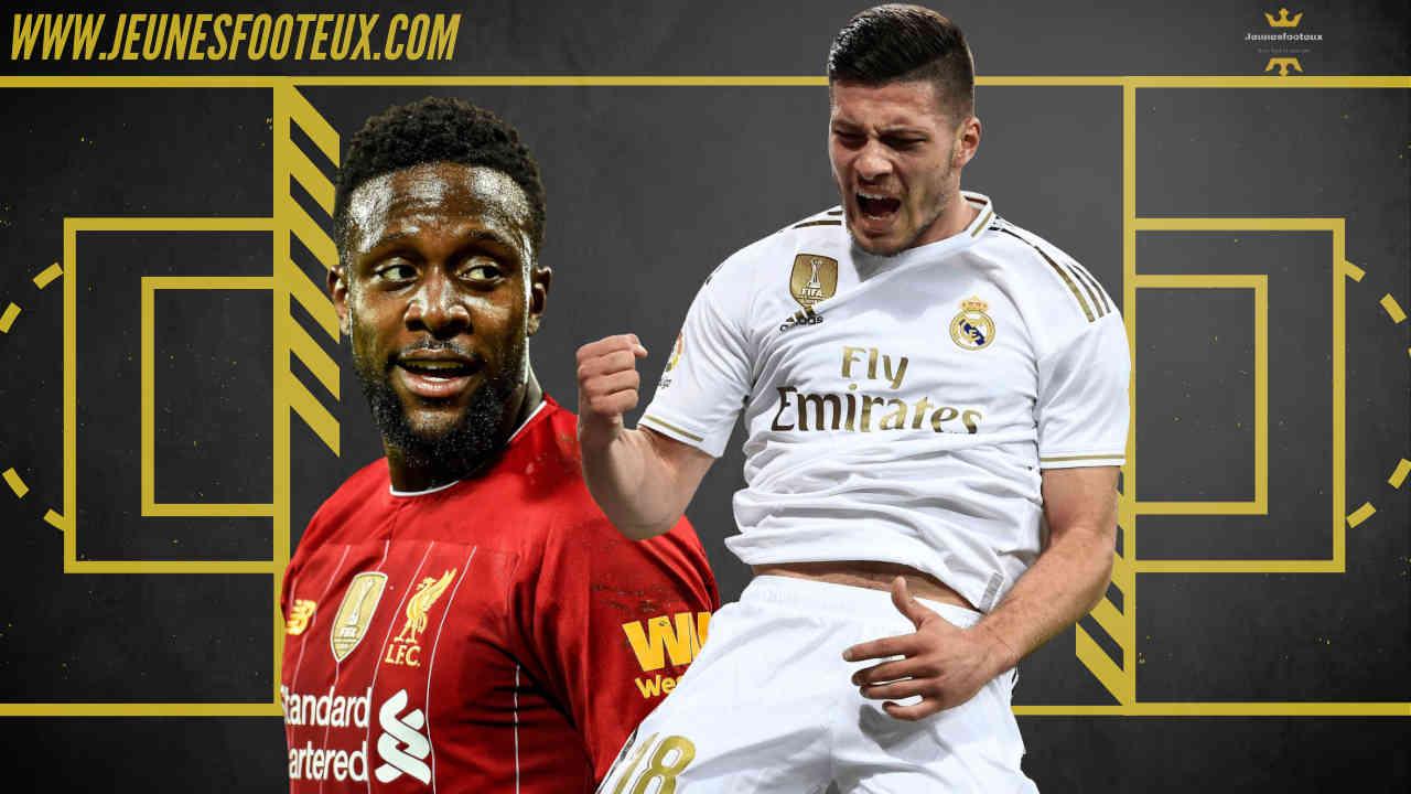 Sur le banc au Real Madrid, Luka Jovic pourrait arriver à Wolverhampton au lieu de Divock Origi