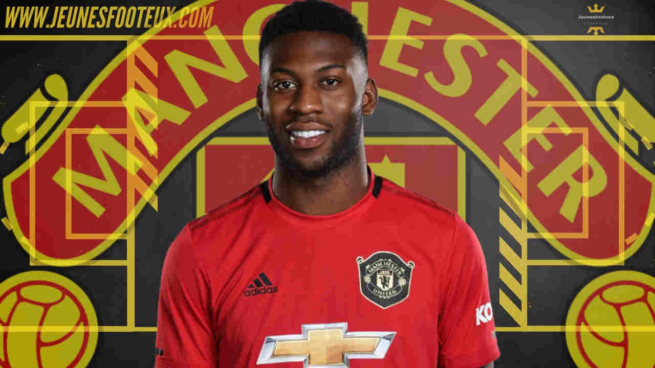 Timothy Fosu-Mensah, arrière latéral droit de Manchester United