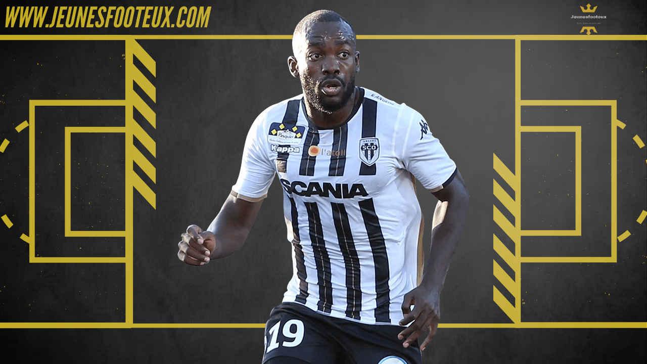 Stéphane Bahoken, attaquant camerounais du SCO d'Angers serait convoité en Premier League
