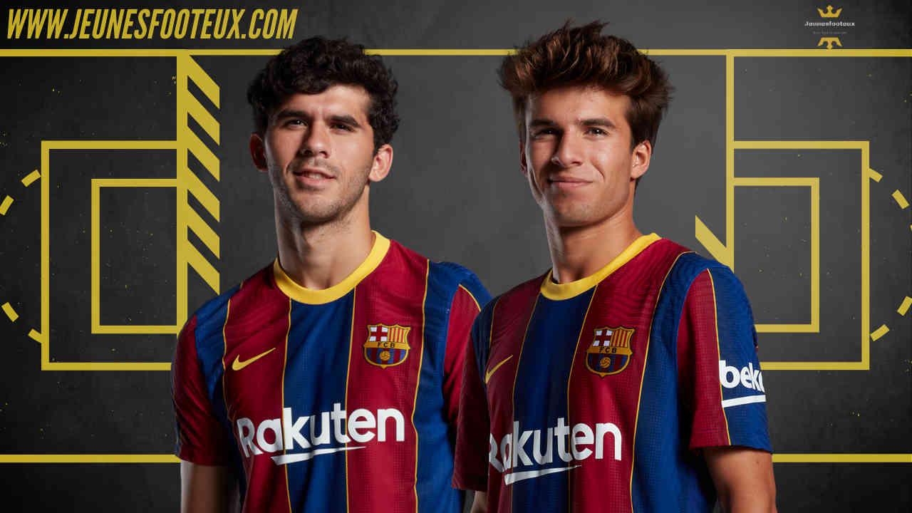 Carles Aleña et Riqui Puig, deux milieux formés au FC Barcelone