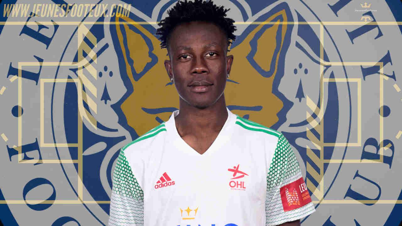 Kamal Sowah, polyvalent attaquant de Leicester prêté à OH Louvain