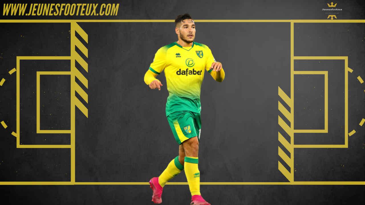 Emiliano Buendia, milieu offensif de Norwich est sur les radars d'Arsenal