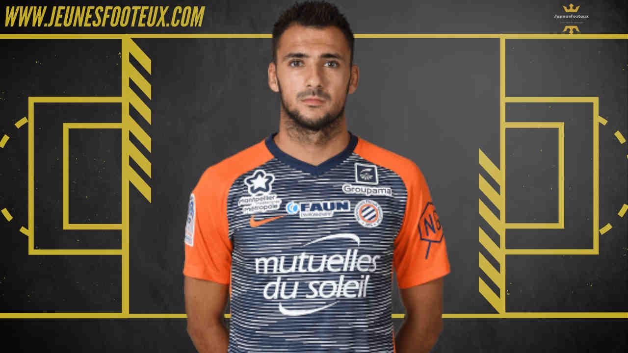 Gaëtan Laborde, attaquant de Montpellier HSC