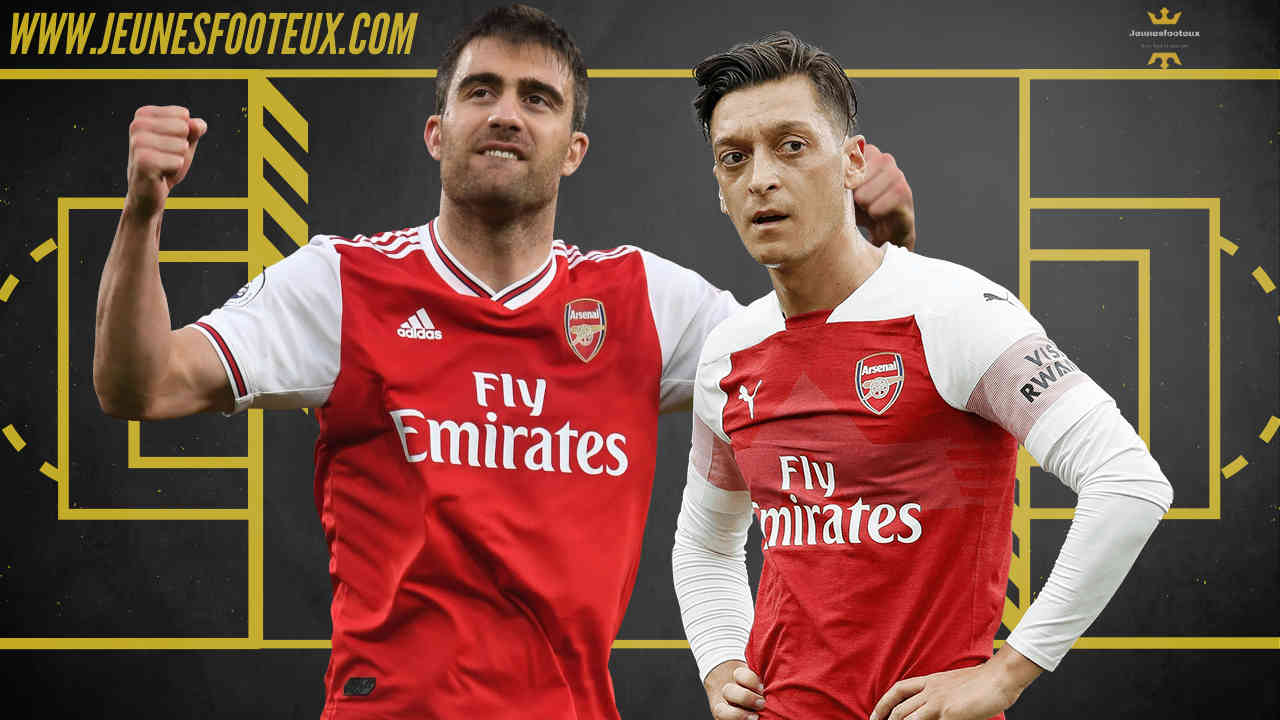 Arsenal ne devrait pas recruter dans que Sokratis et Özil n'auront pas quitté le club