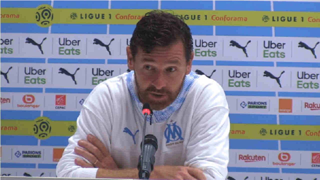 André Villas-Boas, entraîneur de l'Olympique de Marseille