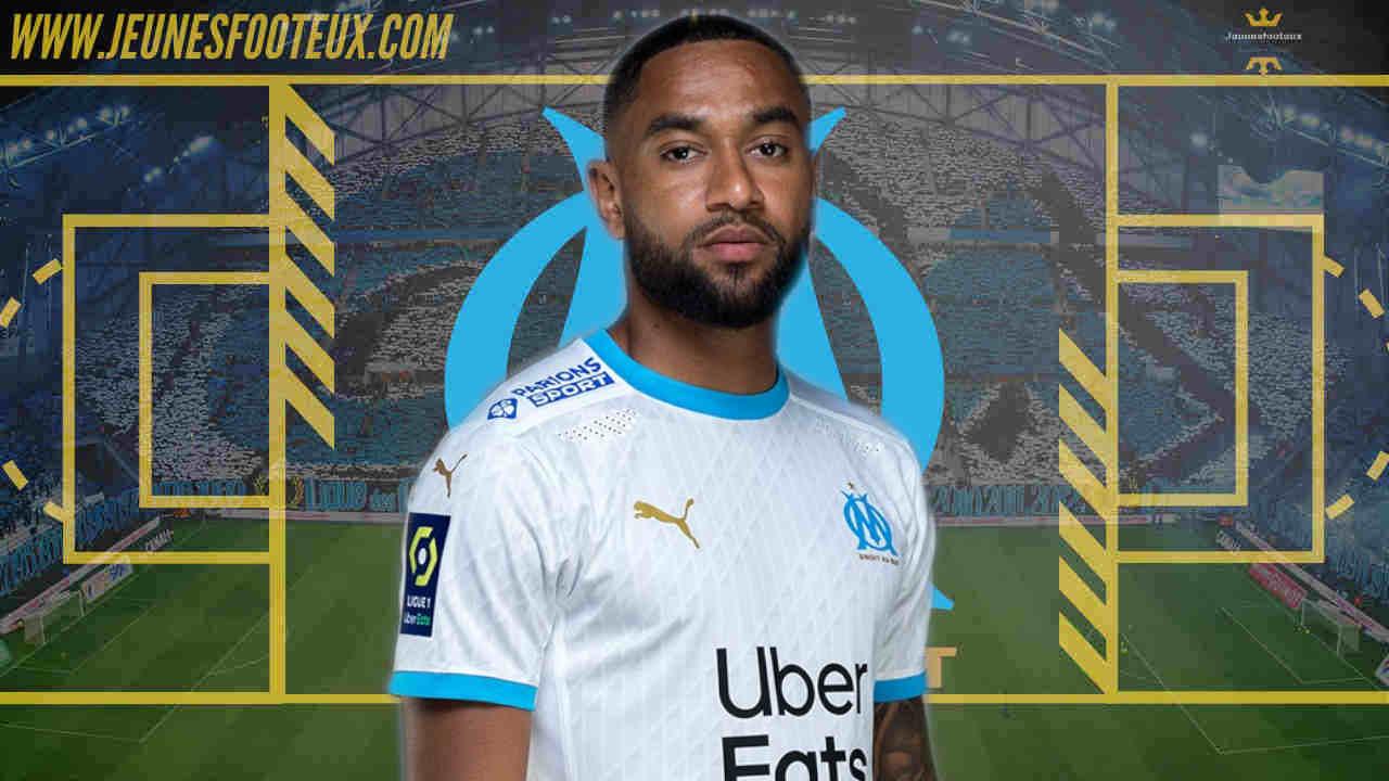 Jordan Amavi, arrière latéral gauche de l'Olympique de Marseille