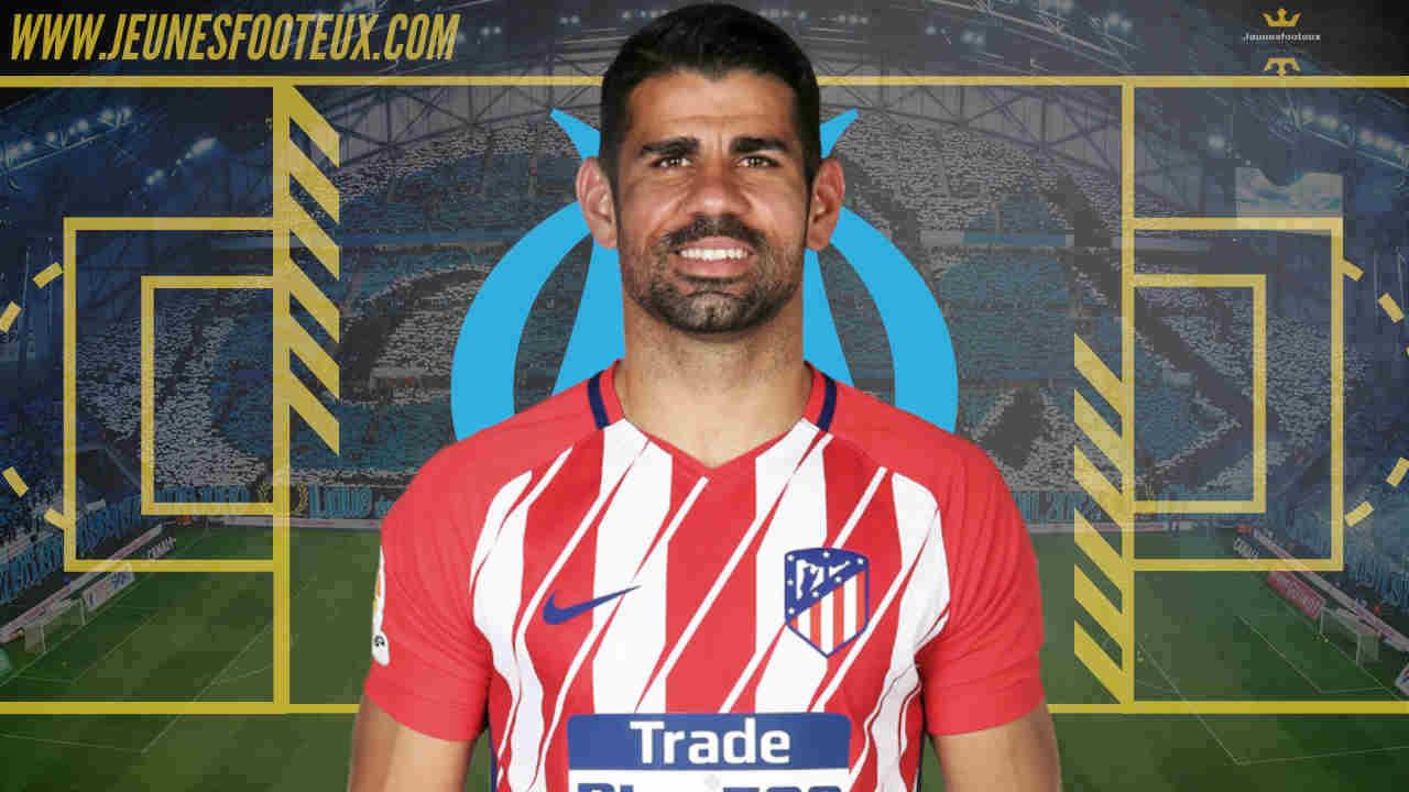 OM - Mercato : Diego Costa recalé par Marseille ?