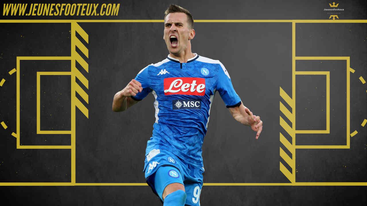 En conflit avec le Napoli, Arek Milik devrait débarquer à l'Olympique de Marseille ce jeudi pour s'engager 18 mois avec le club