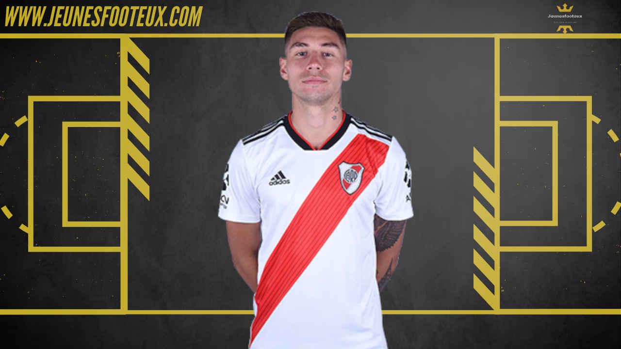 Gonzalo Montiel, latéral droit de River Plate, pourrait venir à l'OL contre 8 millions d'euros