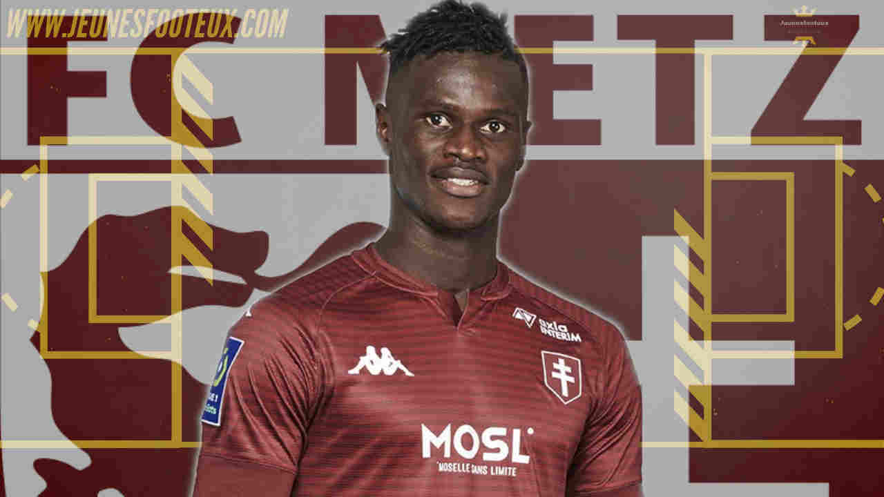 FC Metz : Papa Yade rêve de jouer en Premier League comme Sadio Mané !