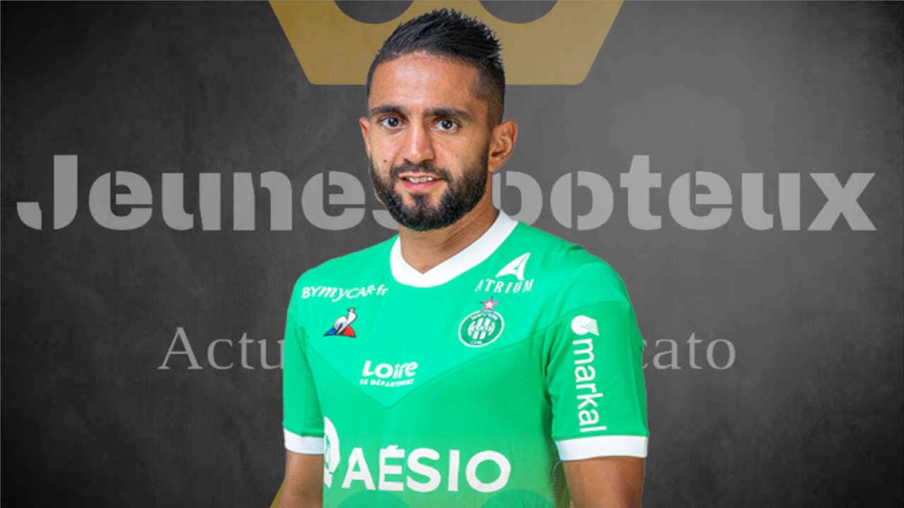 Mercato ASSE : Ryad Boudebouz (AS Saint-Etienne).