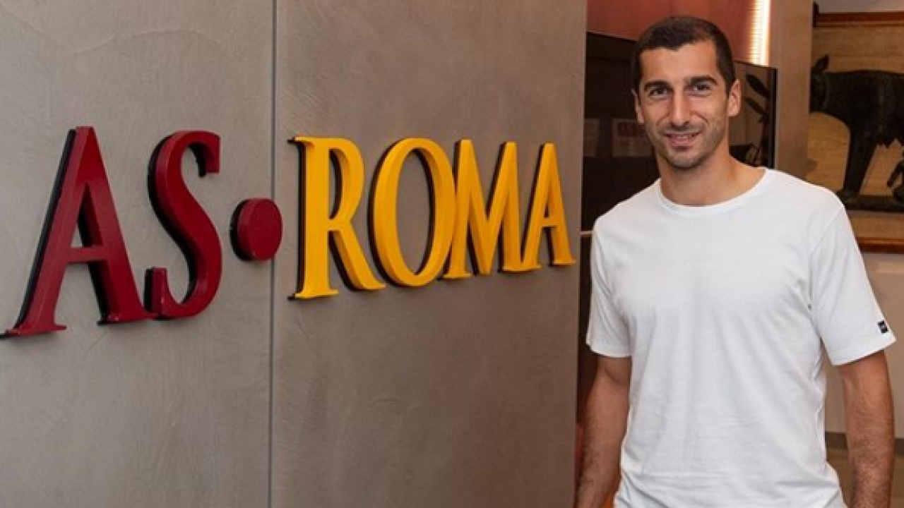AS Rome : Mkhitaryan sur les tablettes de la Juventus ?