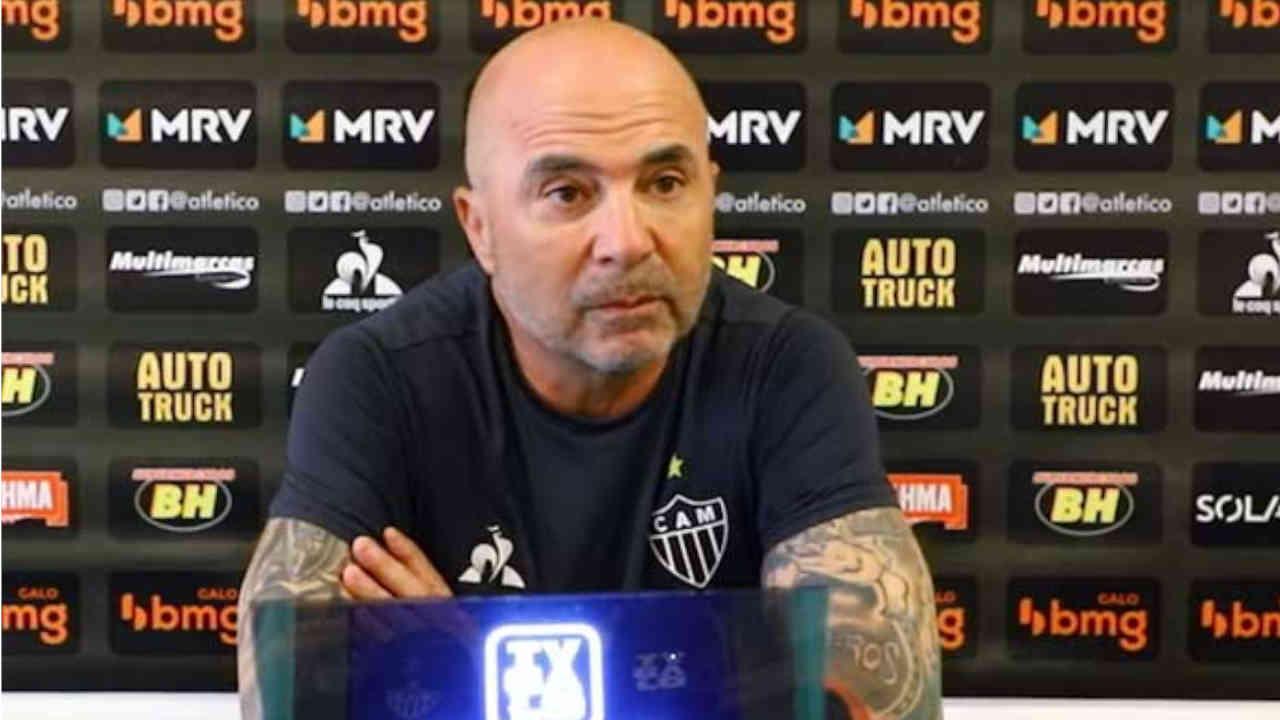 Jorge Sampaoli, futur entraîneur de l'Olympique de Marseille