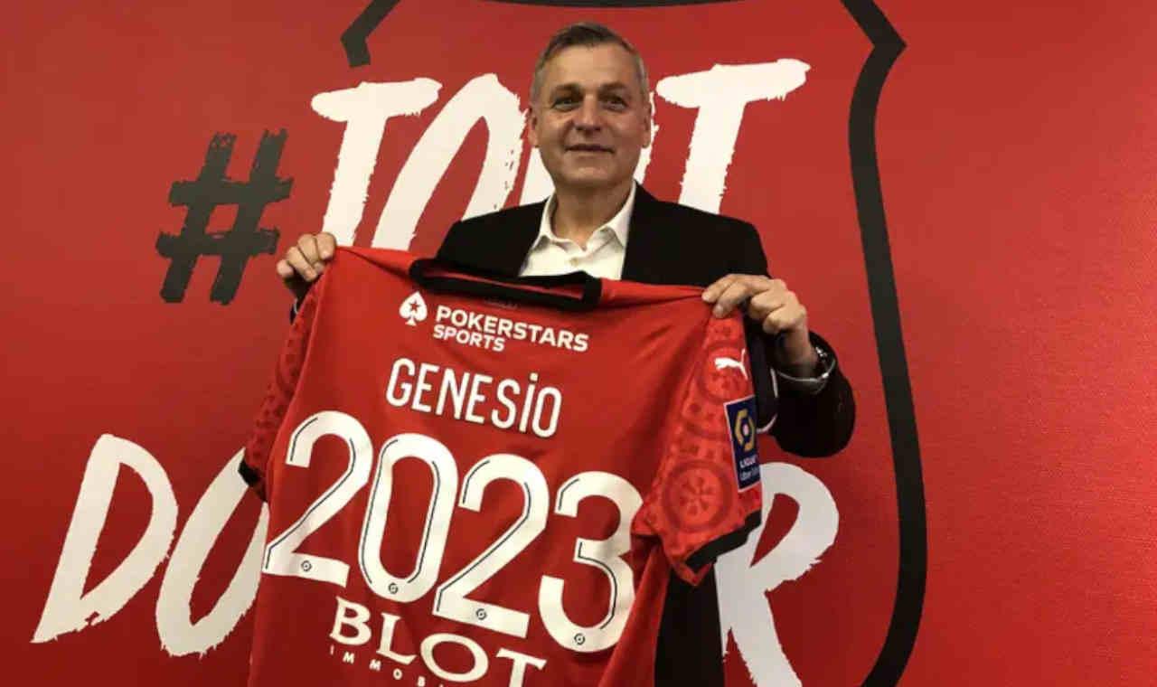 Stade Rennais Mercato : Bruno Genesio jusqu'en 2023 à Rennes
