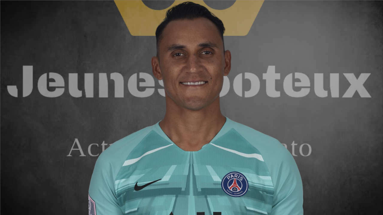 PSG Foot : Keylor Navas (Paris SG, ex Real Madrid).