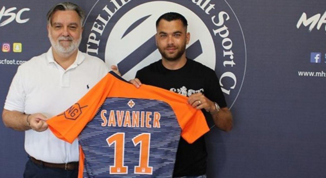 MHSC Foot : Téji Savanier (Montpellier HSC) - Algérie.