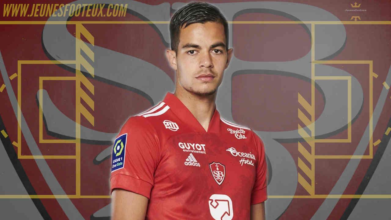 Brest Foot : Romain Faivre (Stade Brestois, Ligue 1).