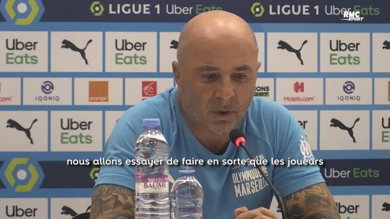 OM actu : Jorge Sampaoli, entraîneur de l'Olympique de Marseille