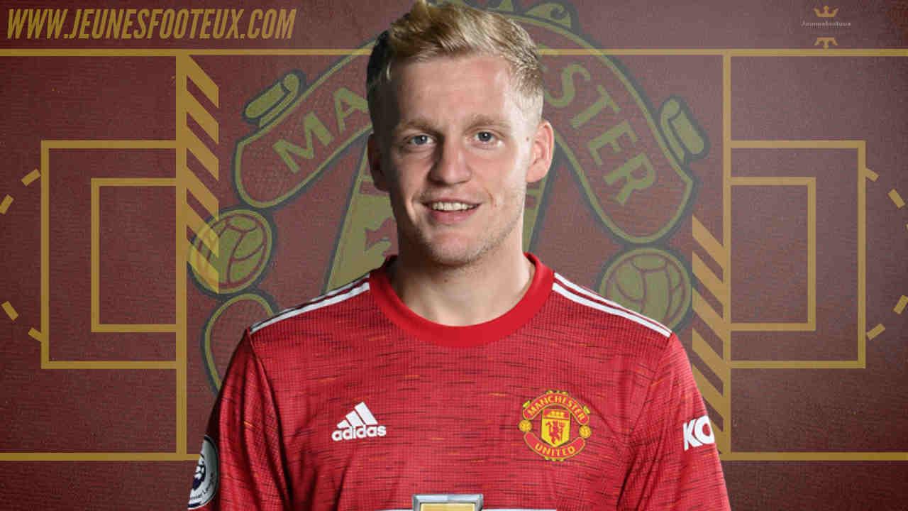 Donny van de Beek veut quitter Manchester United, des cadors européens intéressés