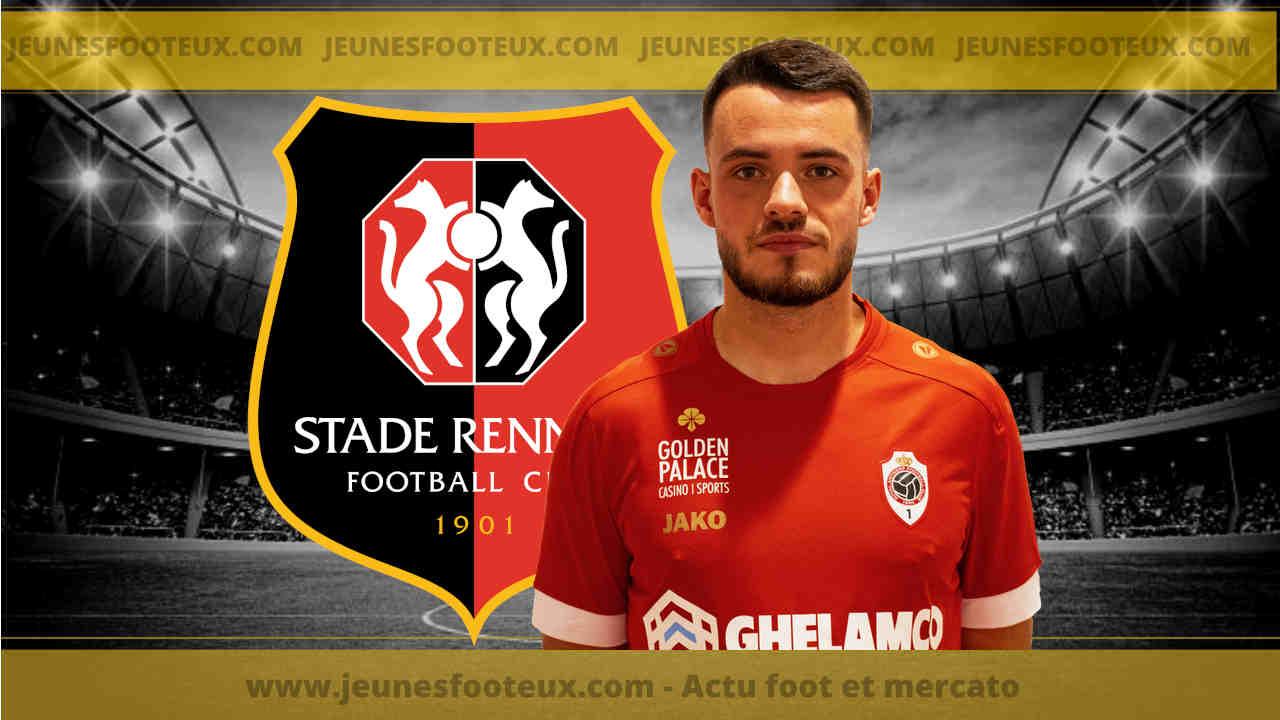 Jérémy Gélin, défenseur du Stade Rennais prêté à Antwerp