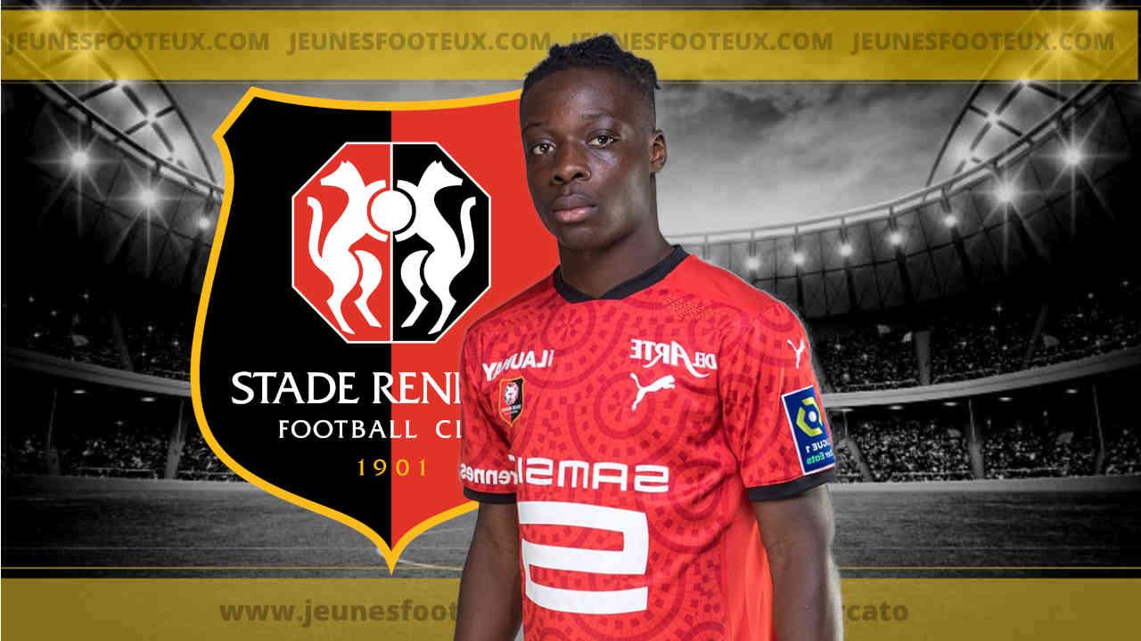 Rennes Foot : Jérémy Doku (Stade Rennais).