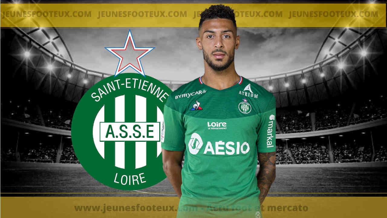 ASSE : Denis Bouanga sans filtre avant Nîmes - Saint-Etienne