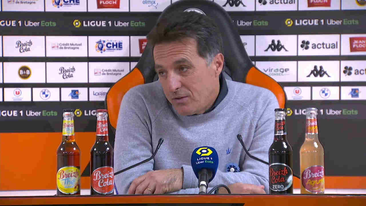 RC Lens - FC Lorient : Pélissier peste contre l'arbitrage