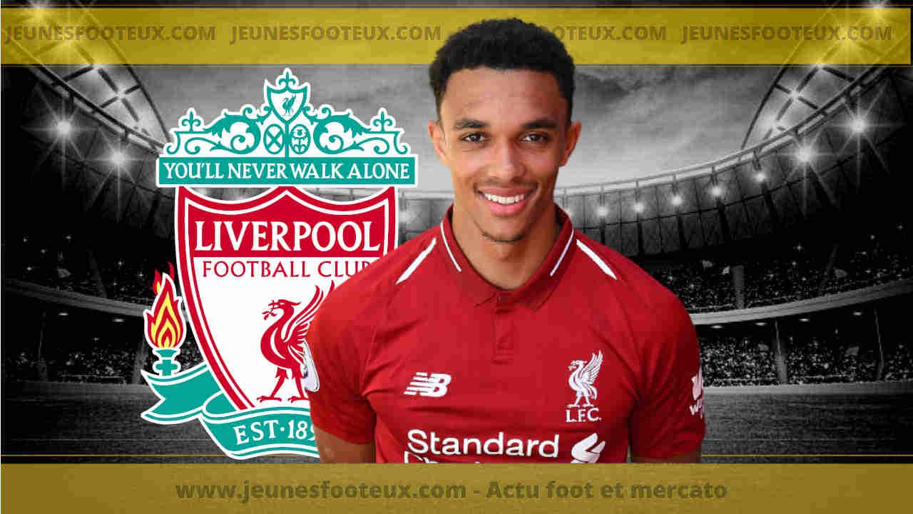 Liverpool: Jürgen Klopp en rajoute une couche sur Trent Alexander-Arnold !