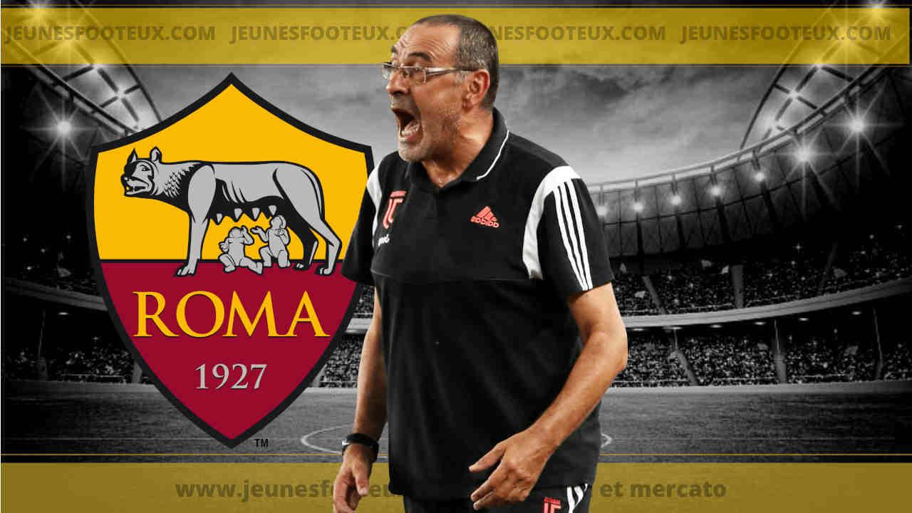 Maurizio Sarri annoncé sur le banc de l'AS Rome