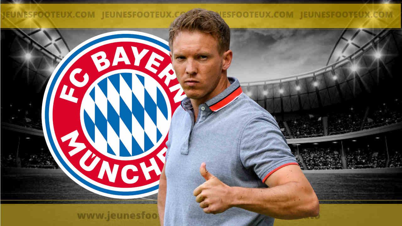 Julian Nagelsmann, nouvel entraîneur du Bayern Munich