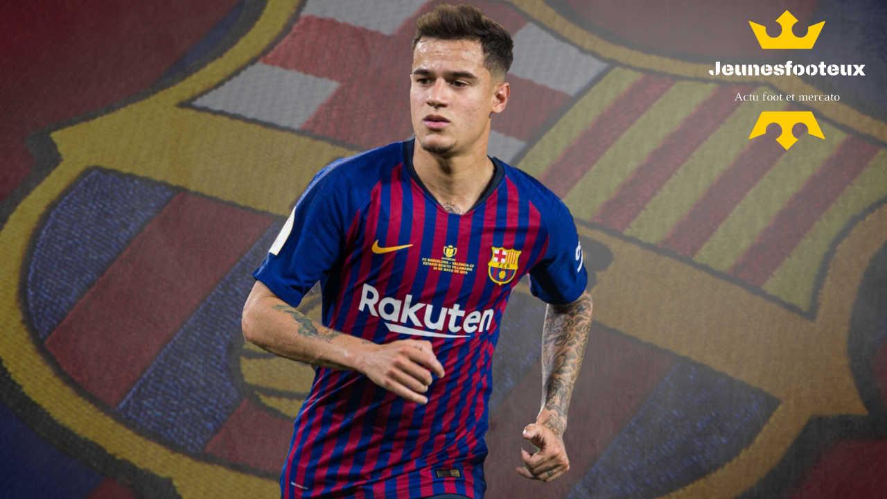 FC Barcelone : Coutinho (Barça) à Everton ?