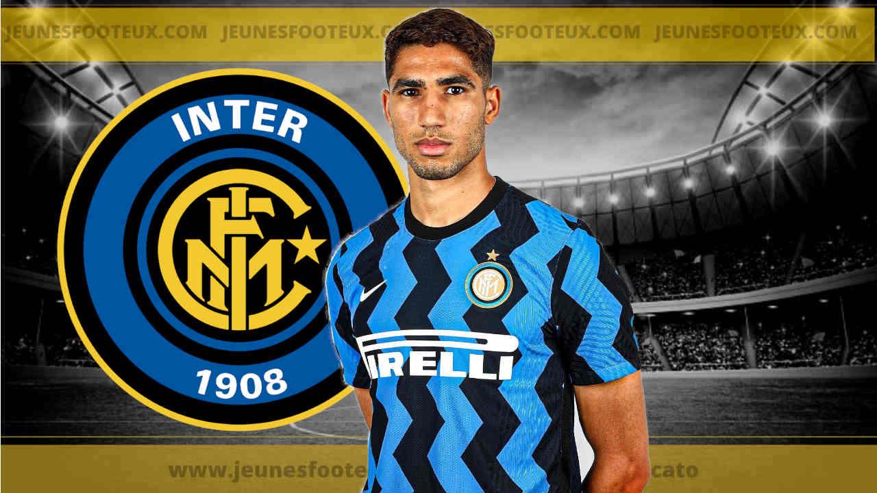 Inter Milan - Mercato : un nouveau cador pour Achraf Hakimi !