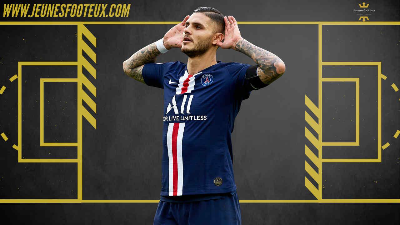 PSG Foot : Mauro Icardi (Paris SG) sur le départ !