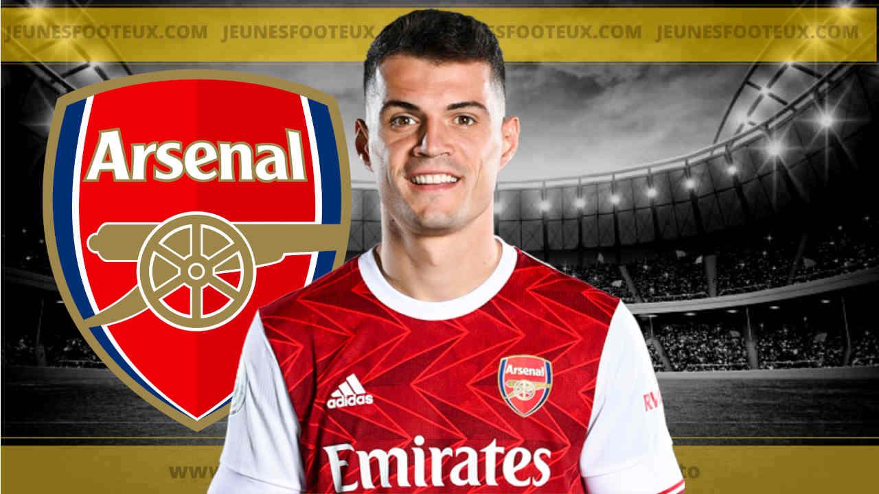 Arsenal : Granit Xhaka poussé vers la sortie