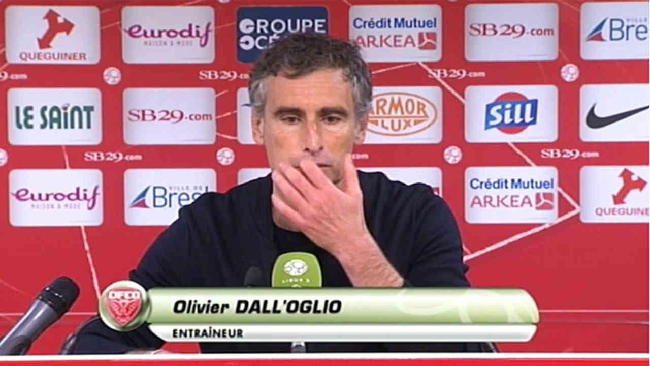 Stade Brestois : Olivier Dall'Oglio vide son sac !
