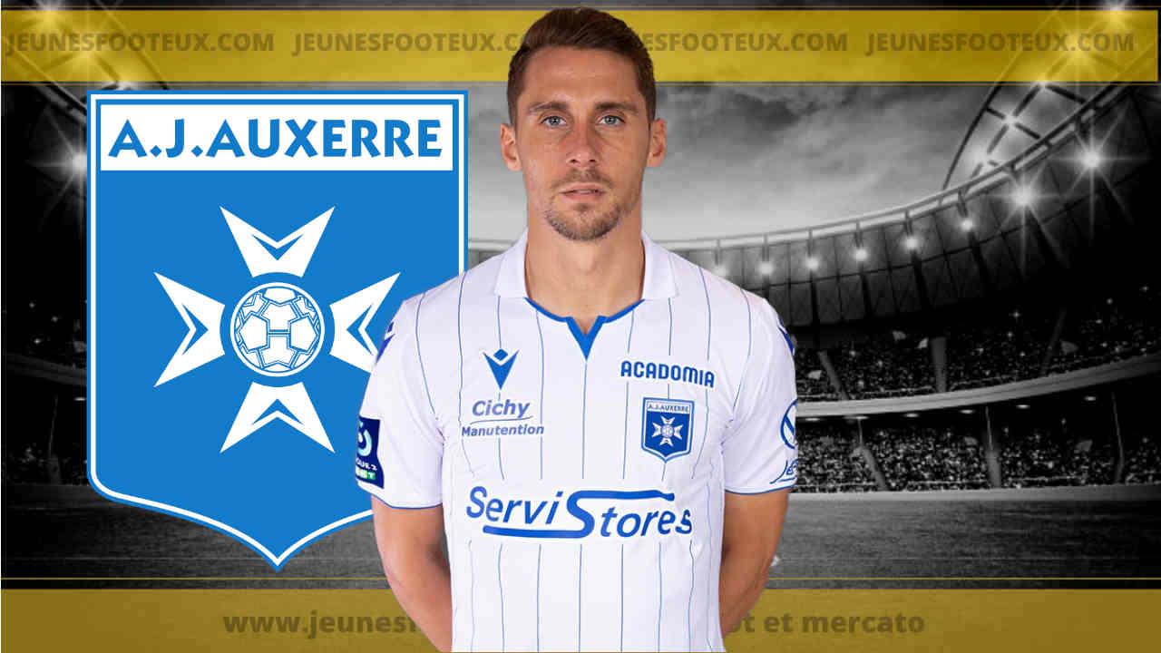 AJ Auxerre : convoité par le Paris FC, Rémy Dugimont prolonge à l'AJA