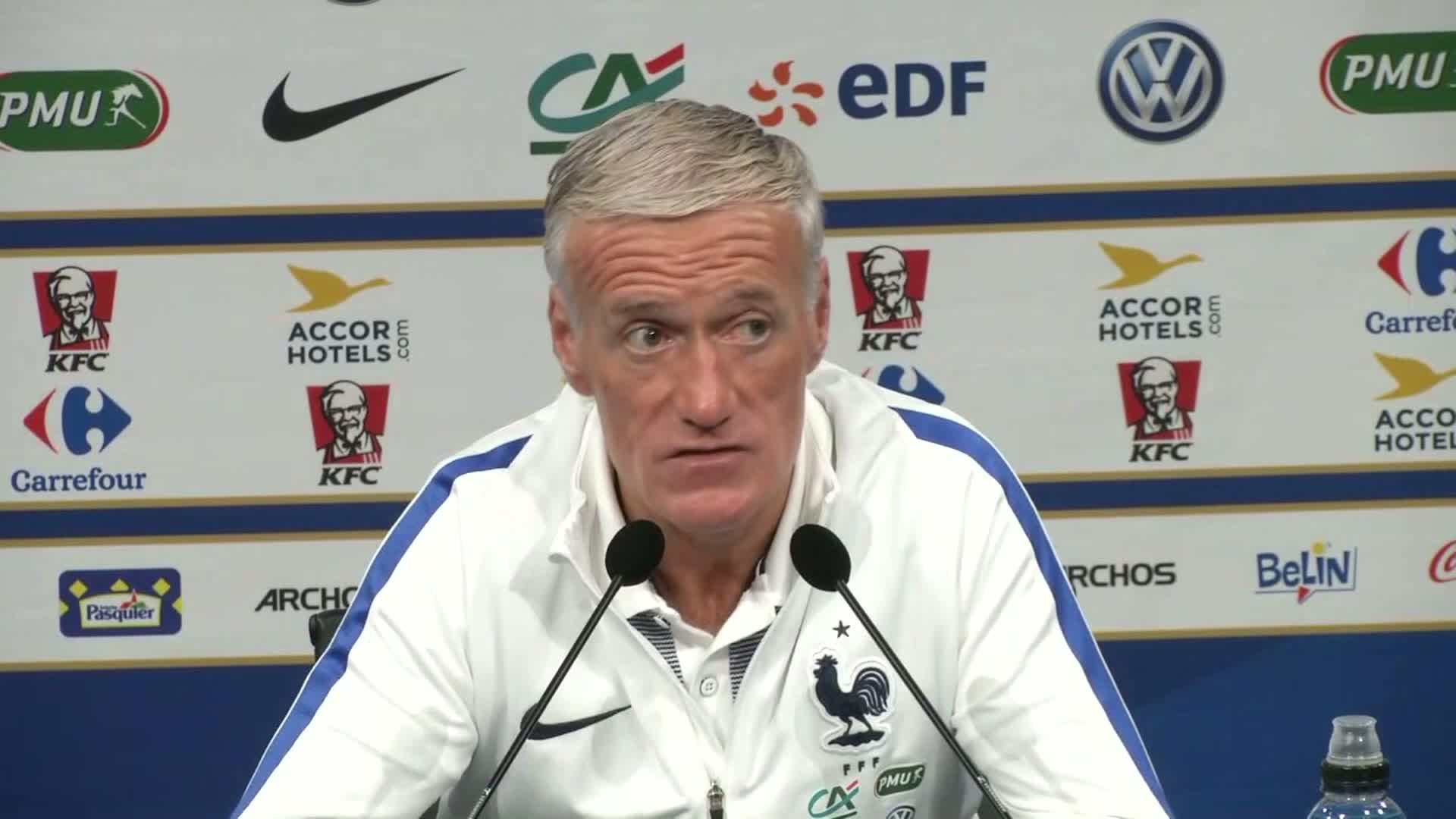 Equipe de France : Deschamps remet gentiment en place Giroud