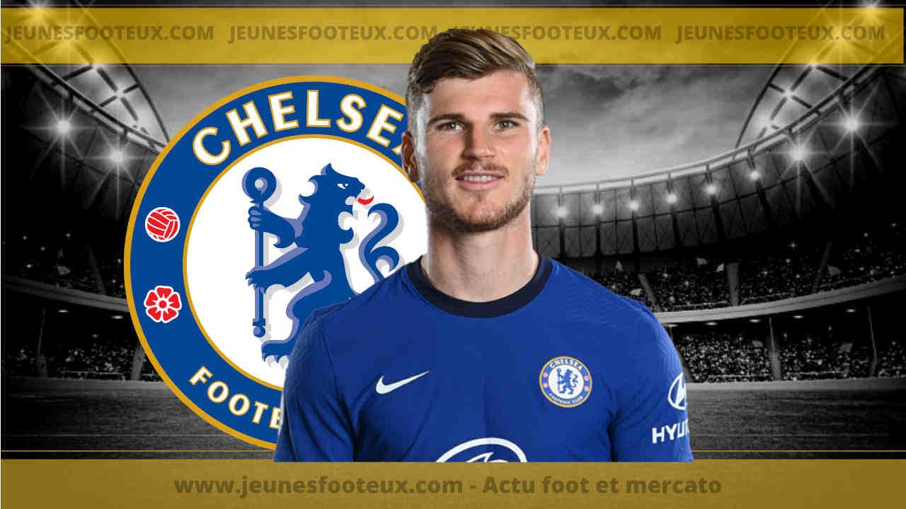 Chelsea : Werner intéresse le Real Madrid