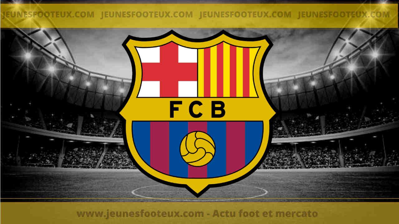 Le nouveau maillot pré-match du FC Barcelone