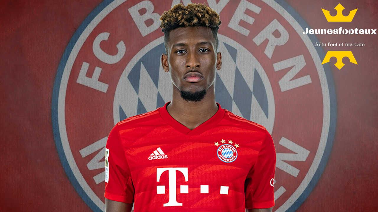 Mercato Bayern Munich : Liverpool veut Kingsley Coman