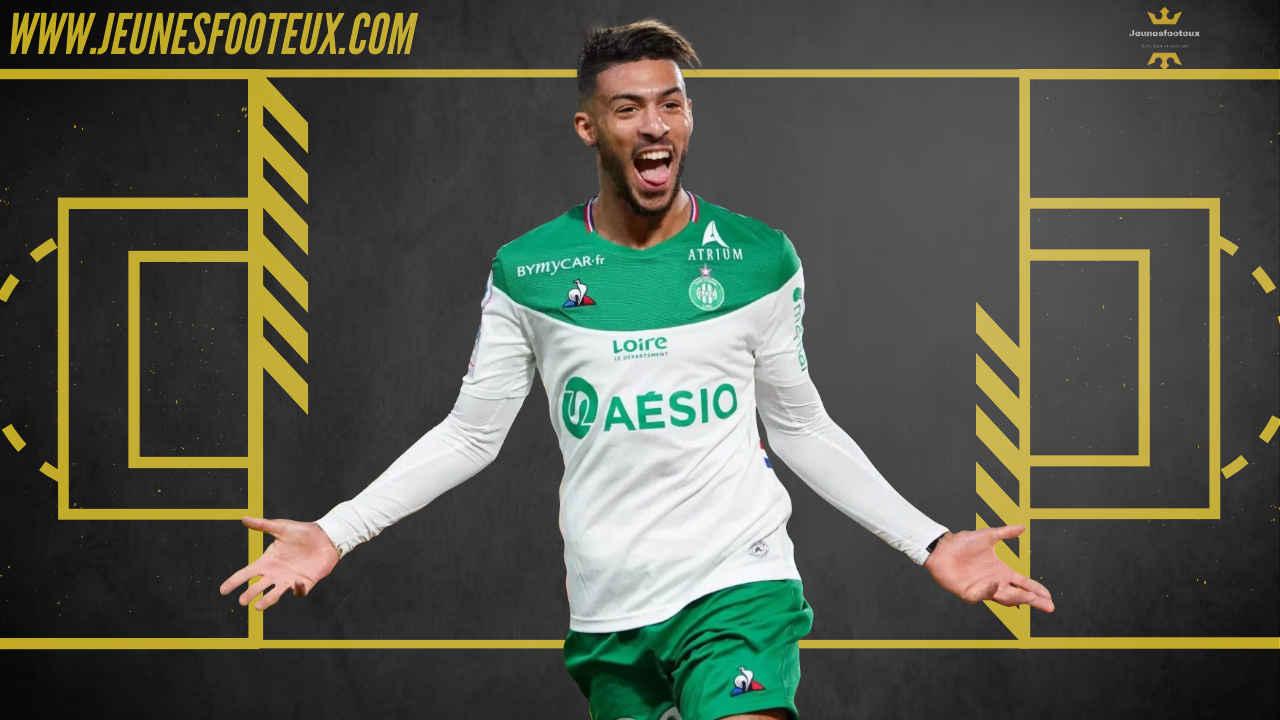 ASSE Foot : Bouanga, départ de l'AS Saint-Etienne ?