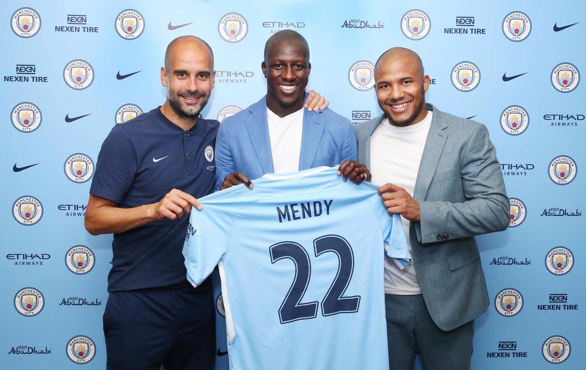 Benjamin Mendy, de Manchester City à l'Inter Milan ?