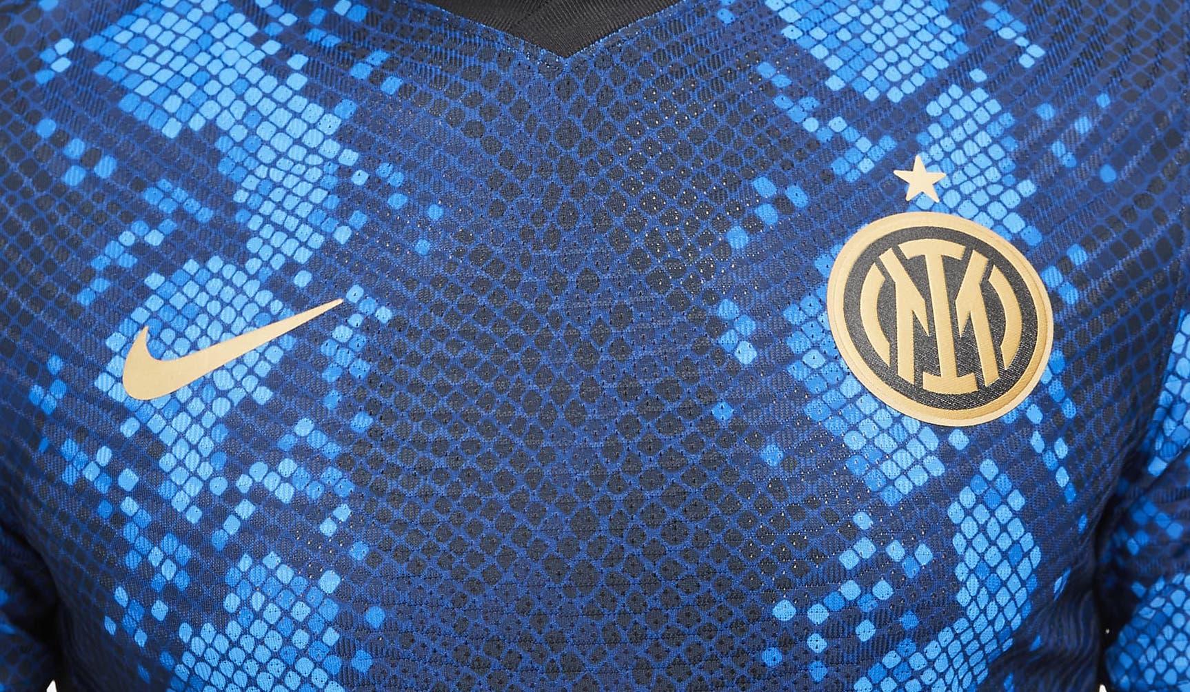 L'inter Milan dévoile son nouveau maillot domicile 2021-2022