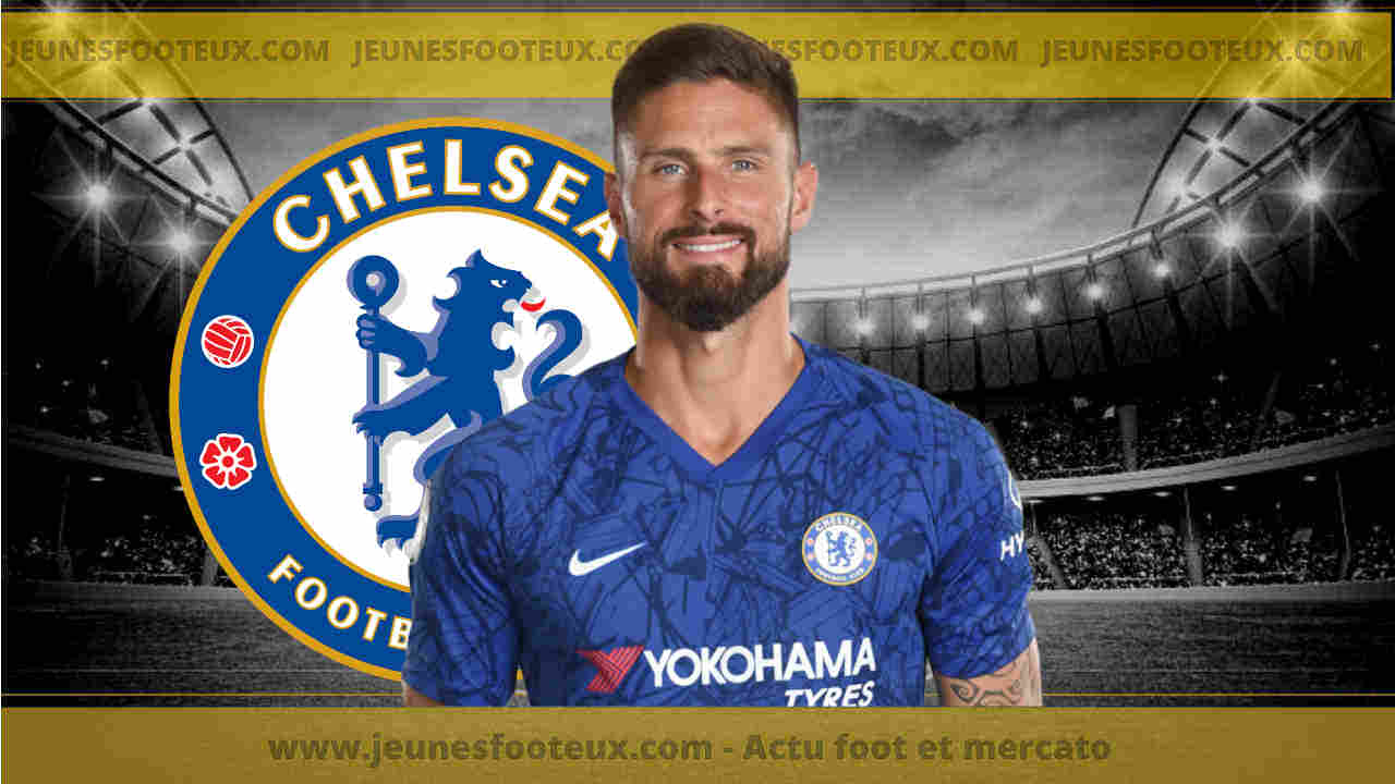 Mercato Chelsea : Olivier Giroud signe à l'AC Milan
