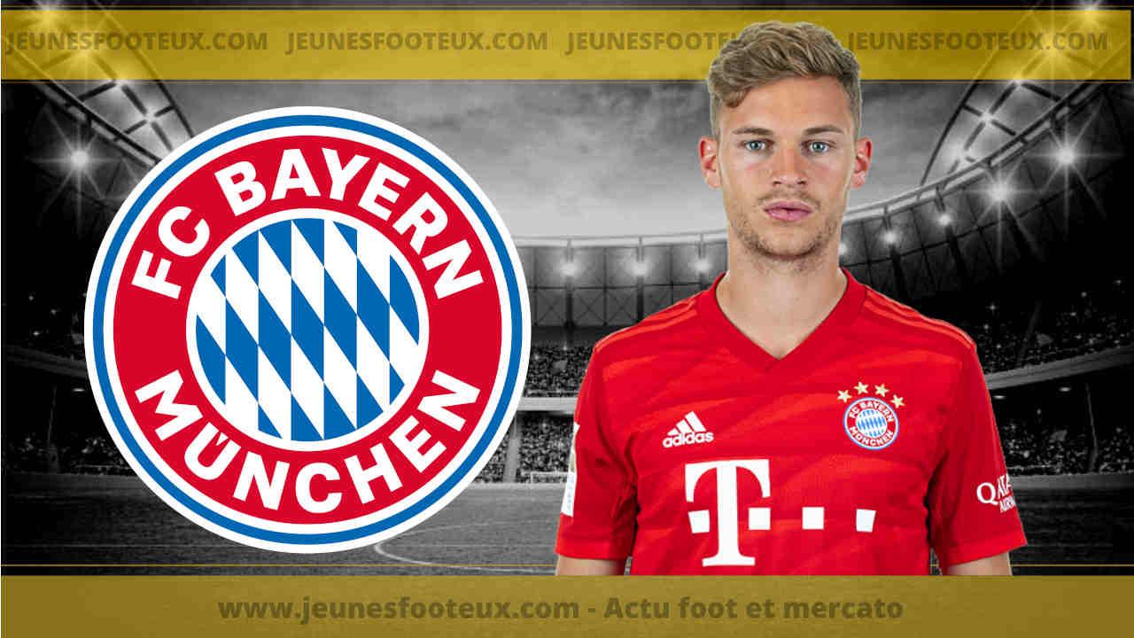 Bayern Munich - Mercato : L'annonce de la prolongation de Joshua Kimmich